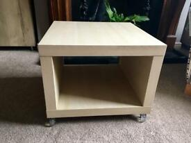 Small Birch tv stand/table