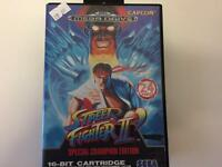 Street Fighter ll Sega MegaDrive
