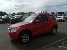 2008 08 SUZUKI GRAND VITARA 1.6 VVT 3D 105 BHP **** GUARANTEED FINANCE **** PART EX WELCOME ****