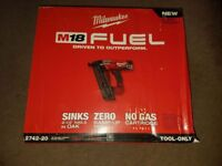 MILWAUKEE 2742-20 M18 FUEL™ 16ga Angled Finish Nailer (Tool Only) 2018