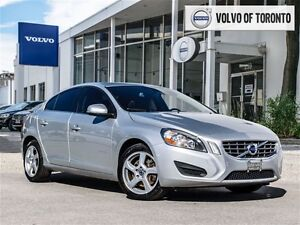 2012 Volvo S60 T5 A Level 1 *CPO Ext Warr to 2018*