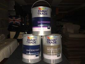 Dulux Trade; Satinwood, undercoat and primer ( undercoat) 2 in 1
