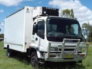 12/2001 Isuzu FTR850 Long 4x2 Freezer/Refridgerated Pantech Truck Inverell Inverell Area Preview