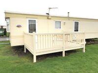 Caravan For Sale With Decking At Sandylands :)
