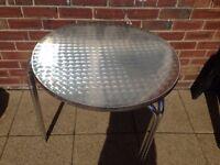 garden table £20