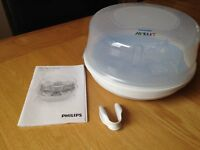 Avent microwave steriliser *come with free bottles!*