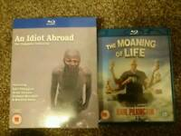 An idiot abroad 1-2 and on bluray