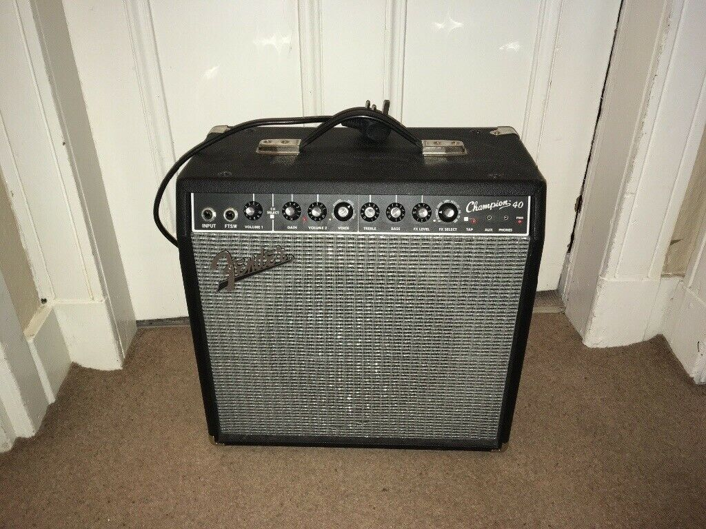 Fender Champion 40 Guitar Amplifier   in Aberdeen   Gumtree