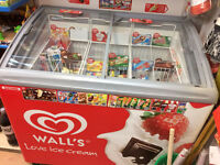 Walls Ice Cream Freezer - Commercial Newsagent Grocery Shop Freezer
