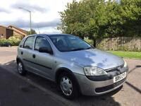 2001/51 VAUXHALL CORSA 1.2 PETROL 5 SPEED MANUAL**MOT UNTIL15th MARCH 2018** FULL SERVICE HISTORY