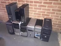 Lob lot of computers and monitors