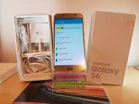 Samsung Galaxy S6 Gold 32GB MINT CONDITION - Unlocked - Boxed