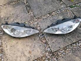 Peugeot 307 Valeo headlights