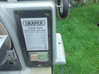 Draper Disc and Belt sander 350w, excellent working order, very little use