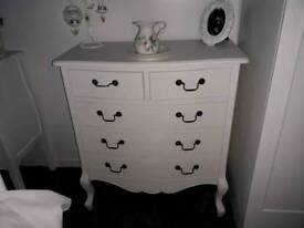 French chest of drawers solid