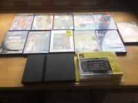 PS 2 games console and accessories