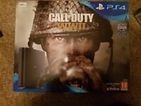PLAYSTATION 4 500GB WITH CALL OF DUTY WW2