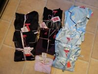 Job lot nightwear, various brands & sizes PJ's Pyjamas, chemises, robes RRP£700
