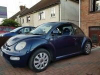 Volkswagen Beetle 1.6 (2001/Y Reg) Blue + Absolute Bargain +