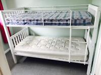 Bunkbeds with 2 x mattresses