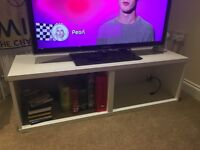 White TV Stand from Ikea