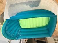 Babies inflatable travel bath.