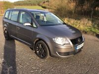 VW TOURAN 1.9 SE TDI 6 SPEED, 57 PLATE, 7 SEATER, FULL SERVICE HISTORY, 11 MONTHS MOT, REALLY CLEAN