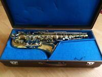 Brass Alto Weitklang Solist Markneukirchen Klingenthal Saxophone