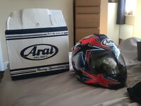 ARAI AXCES 11 ASTEROID RED L BRAND NEW