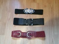 3 Women's belts