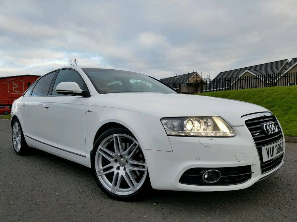 sorry now sold ibis white 2010 audi a6 le mans 3 0 tdi. Black Bedroom Furniture Sets. Home Design Ideas
