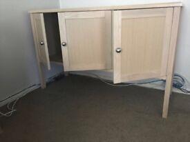 Solid wood/slate units