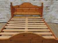 Pine bed frame (Delivery)