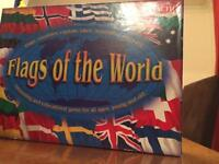 Flags of the world boardgame