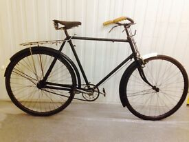 1950s Raleigh Rod breaks Brooks saddle all original Condition