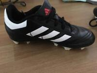 Kids size 11 football boots blades Adidas