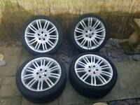 Genuine mercedes 10 twin spoke 18 inch alloys