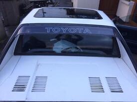Toyota mr2 mk1 parts available please enquire