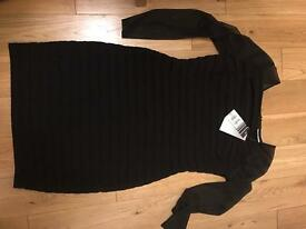 WALLIS Black Dress size 14 **NOW £10**