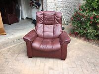 Stressless sofa and chair