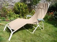Original Relaxator 365 reflexology/therapy chair, cream and tan, with cushion. Excellent condition.