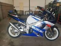 Suzuki GSXR1000 K2 2002 Ready to Ride Away, 12 Months MOT