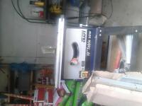 "A power craft 10"" power saw. it has extendable sides. it has hardly been used."