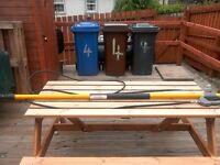 7.2m 24ft telescopic extendable lance long reach pole £140