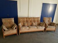 CINTIQUE MODENA FABRIC SET 3 SEATER SOFA / SETTEE / SUITE & 2 CHAIRS / ARMCHAIRS DELIVERY AVAILABLE