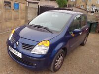 Stunning Blue 2004 Renault Modus 1.4 Petrol 5 Door Long MOT Service History PART EXCHANGE TO CLEAR