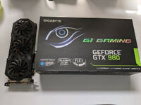 Gigabyte Geforce GTX 980 4GB Gaming G1 Windforce (boxed)