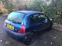 Renault Clio low milles 51009 sale or Swap