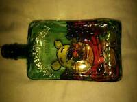 Hand made winnie the pooh bottle