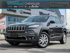 2016 Jeep Cherokee Limited/Navigation/Leather Interior